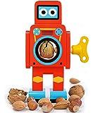 Suck UK - Schiaccianoci a forma di robot, colore: Rosso, 1 pezzo