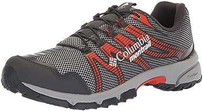 Columbia Montrail Mens Mountain Masochist IV Hiking Shoe, ti Grey Steel, hot Pepper,