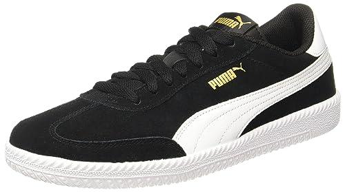f1f1e0ed5cf4 Puma Men s Astro Cup Black White Leather Sneakers - 10 UK India (44.5 EU