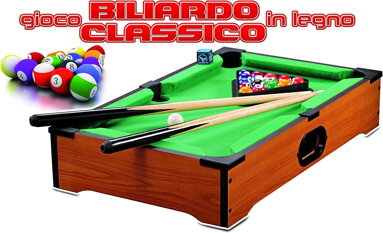RSTA rstoys 8934 – Juegos Billar Clásico Madera: Amazon.es: Juguetes y juegos