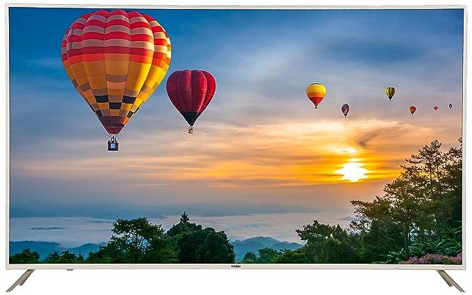 Haier 165.1 cm  65 inches  4K UHD LED Smart TV LE65U6500UAG  Gold  Smart Televisions