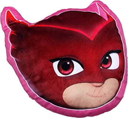 Pj Masks Soft Fur Shaped Pillow Cushion Owlette By BestTrend