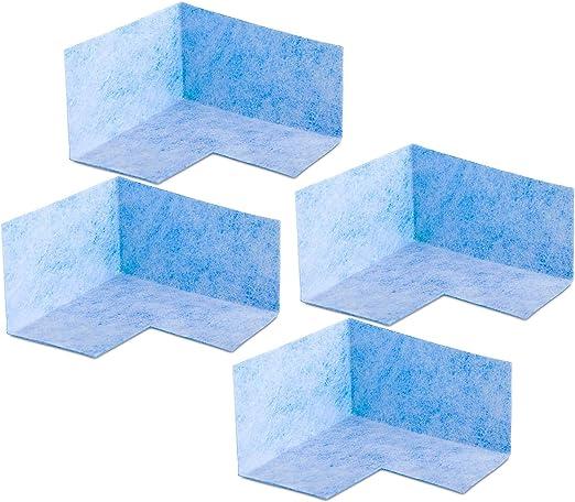 4 esquinas interiores. Junta de esquina para interior de baldosas, para ducha, balcón, ducha o baño B04: Amazon.es: Bricolaje y herramientas