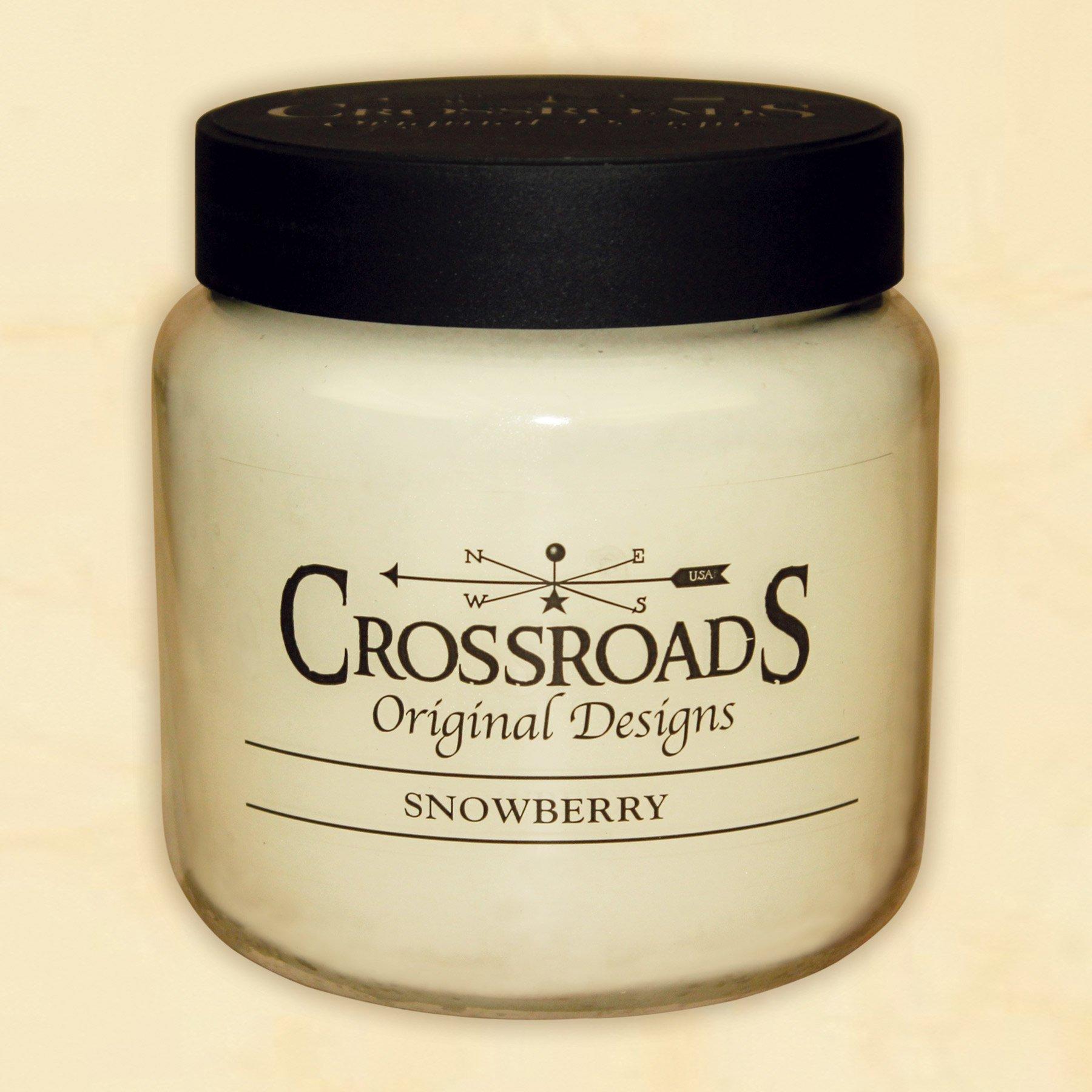 Crossroads 16oz Jar Snowberry