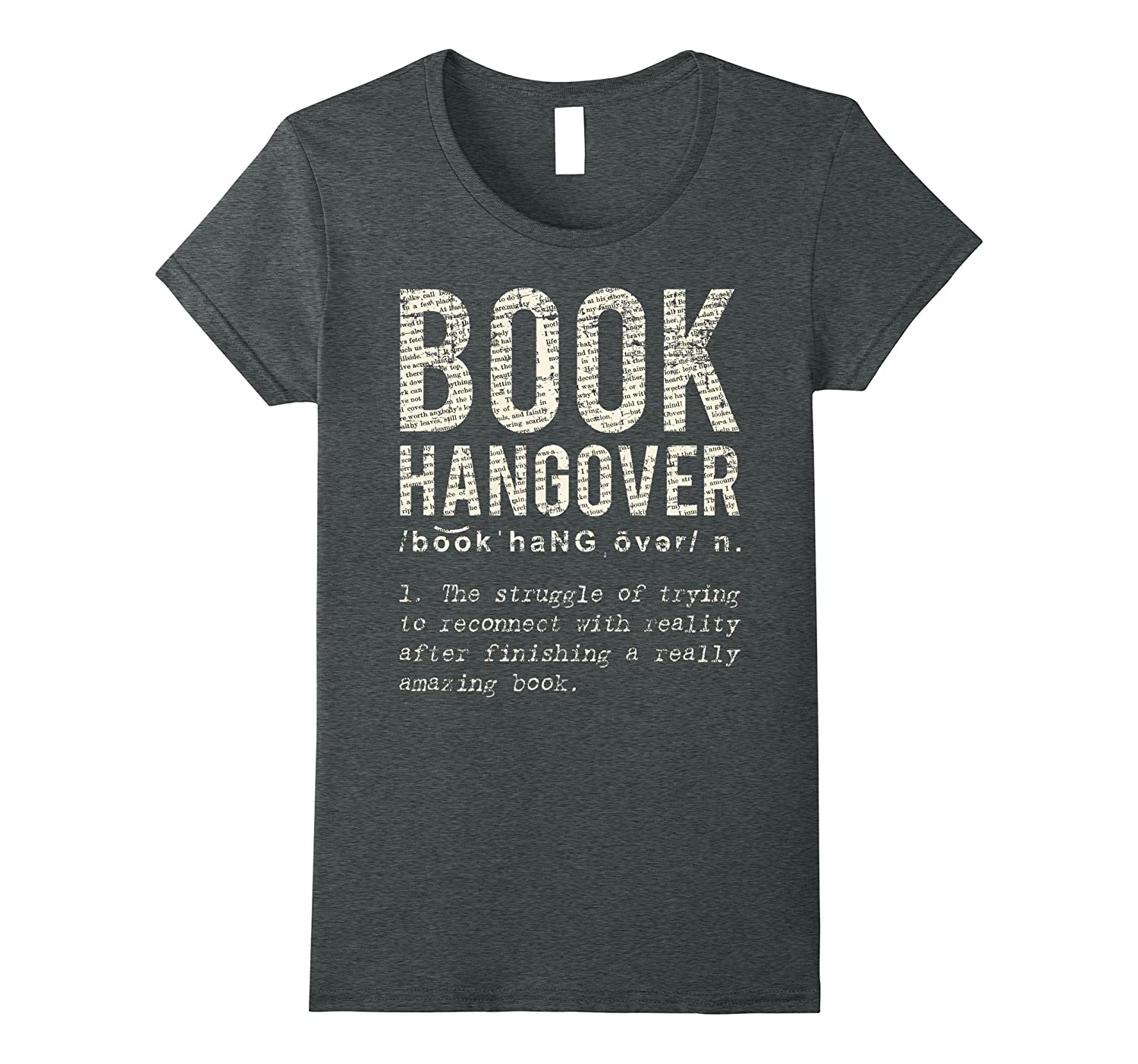 Book Hangover Shirt – T-Shirt for Book Lovers – Book Worm T-Newstyleth