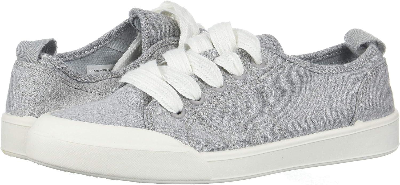 Madden Girl Women's DOT Sneaker, Grey