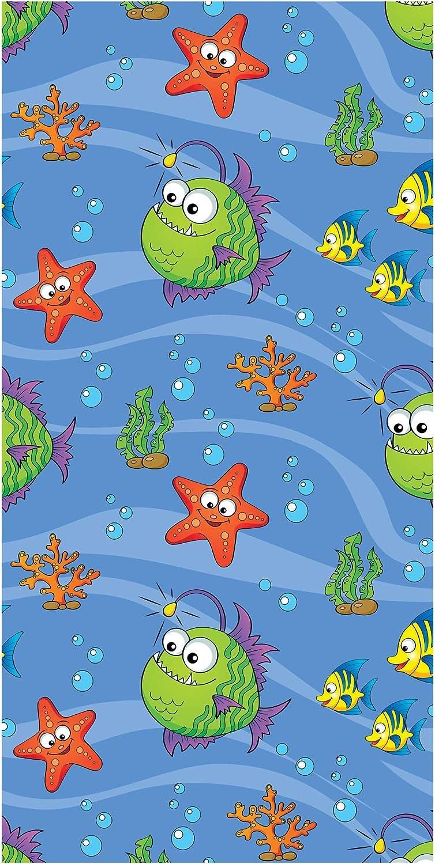 Sirene con Delfini 70x140 cm LimeWorks Telo Bagno per Bambini