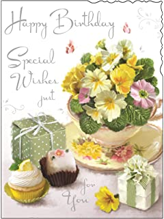 Greeting Card JJ4429 Female Birthday