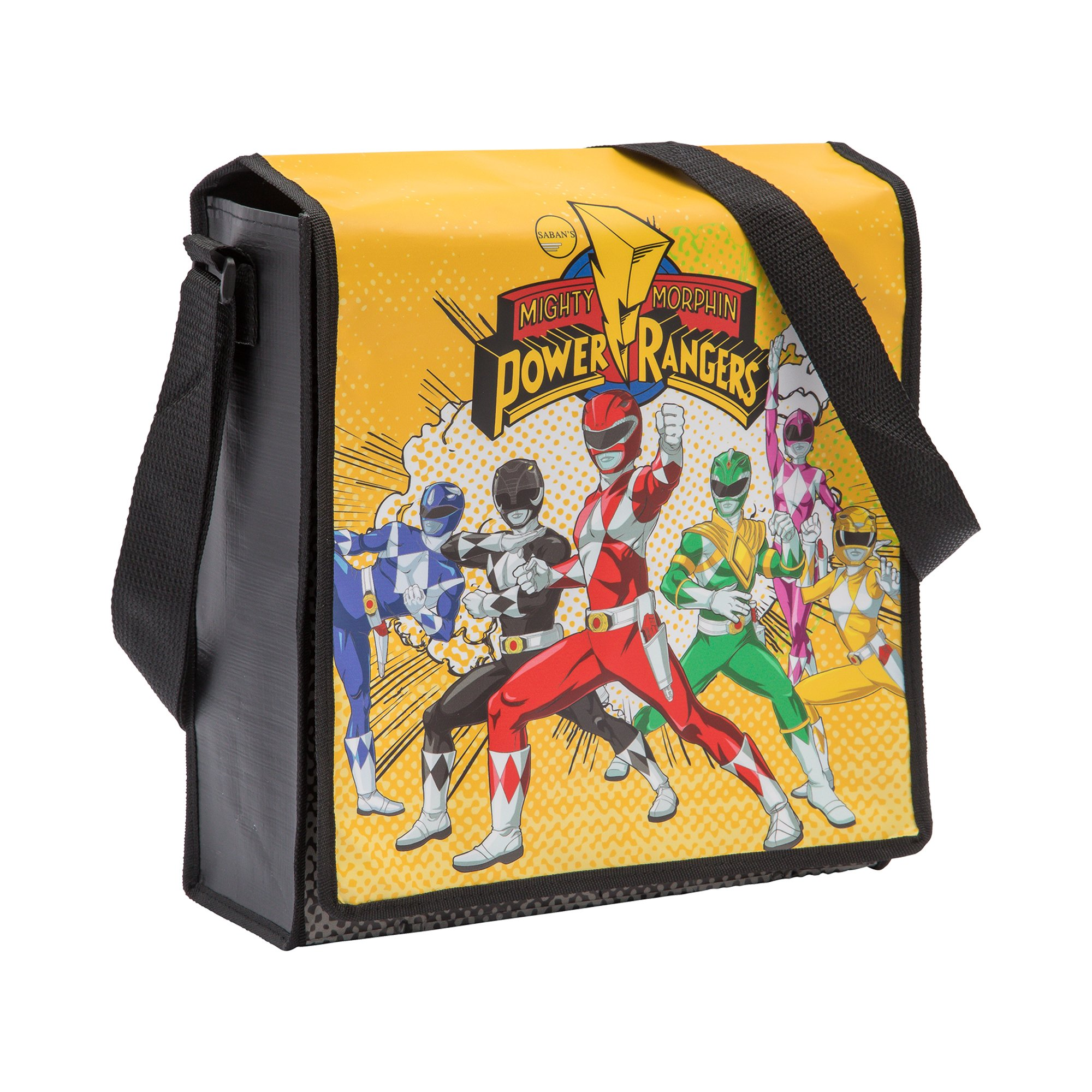 Vandor Power Rangers Recycled Messenger Tote (27007)