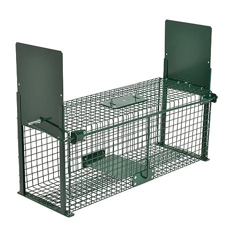 Moorland Safe 5067 - Trampa para Animales Vivos - 61 x 21 x 23cm - para