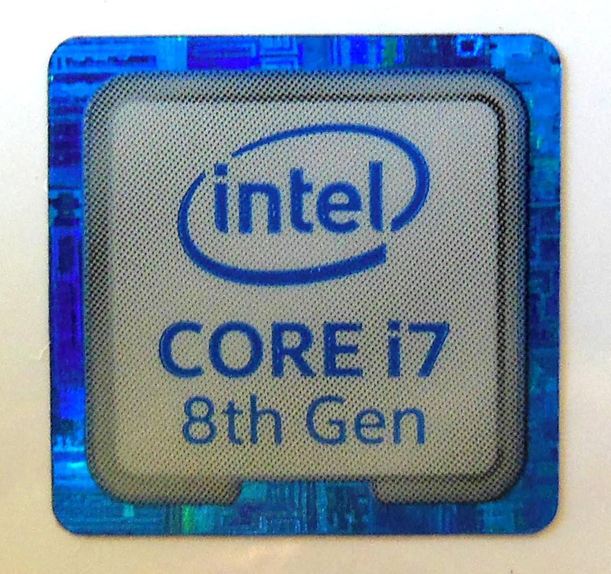 VATH Made Intel Core i5 9th Generation Metal Sticker 18 x 18mm 973 11//16 x 11//16