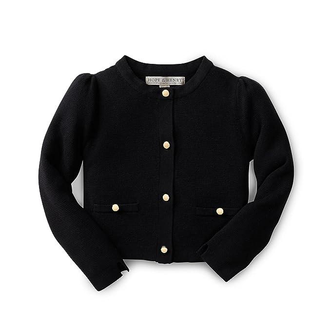 hot sale online 68eae f5a7c Hope & Henry Girls Milano Stitch Cardigan Sweater