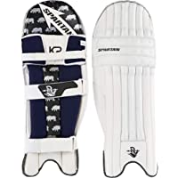 Spartan KP Sorai 1 Batting Pads, Adult-Unisex, White, Pack of 2