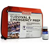 Coleman Survival & Emergency Prep First Aid Kit with Potable Aqua