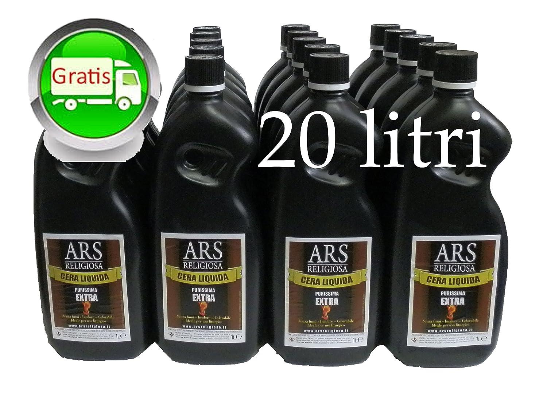 TRASPORTO GRATIS Cera liquida ARSRELIGIOSA EXTRA extra raffinata extra durata no fumo o residui