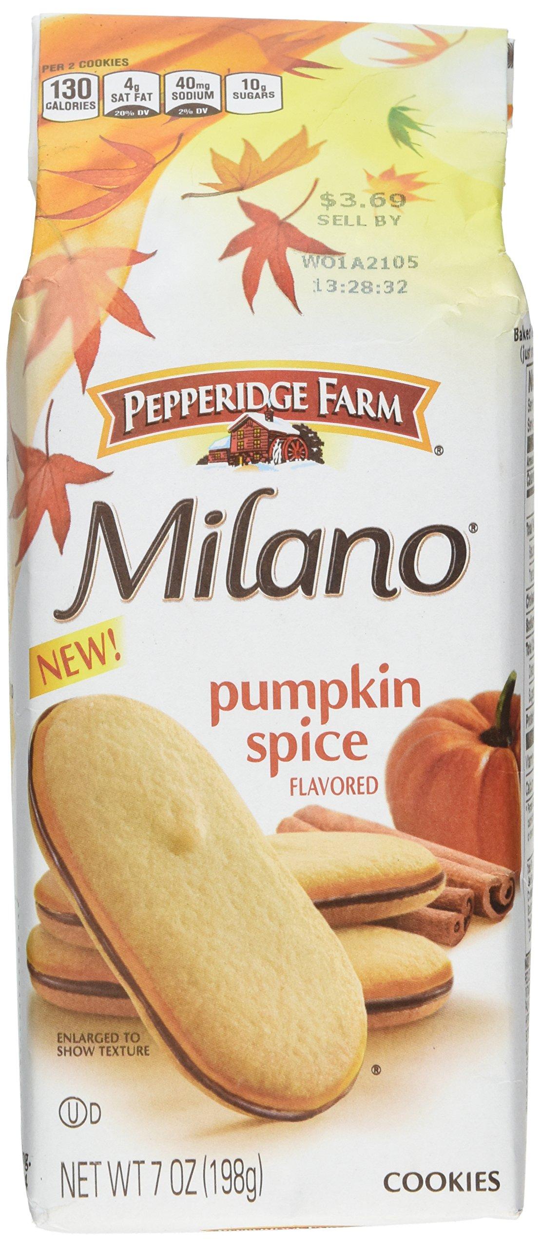 PEPPERIDGE FARM COOKIES MILANO PUMPKIN SPICE 7 OZ by Pepperidge Farm