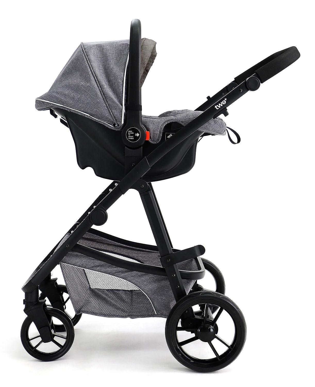 Asalvo - Trío convertible Two +, Color Gris: Amazon.es: Bebé
