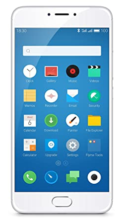 ניס Meizu m3 note (Silver, 32 GB): Amazon.in: Electronics YY-73