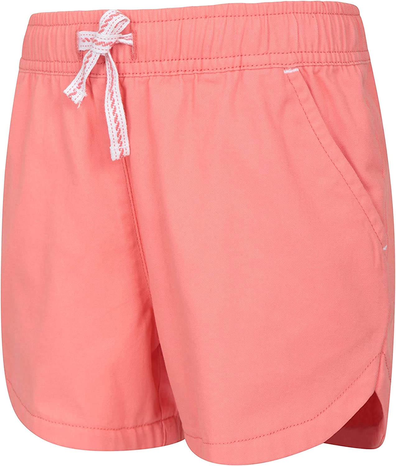 Mountain Warehouse Waterfall Girls Shorts Easy Care Short Pants Breathable Holiday Shorts Ideal Casual Clothes When Travelling Summer Hot Pants Cotton Kids Shorts