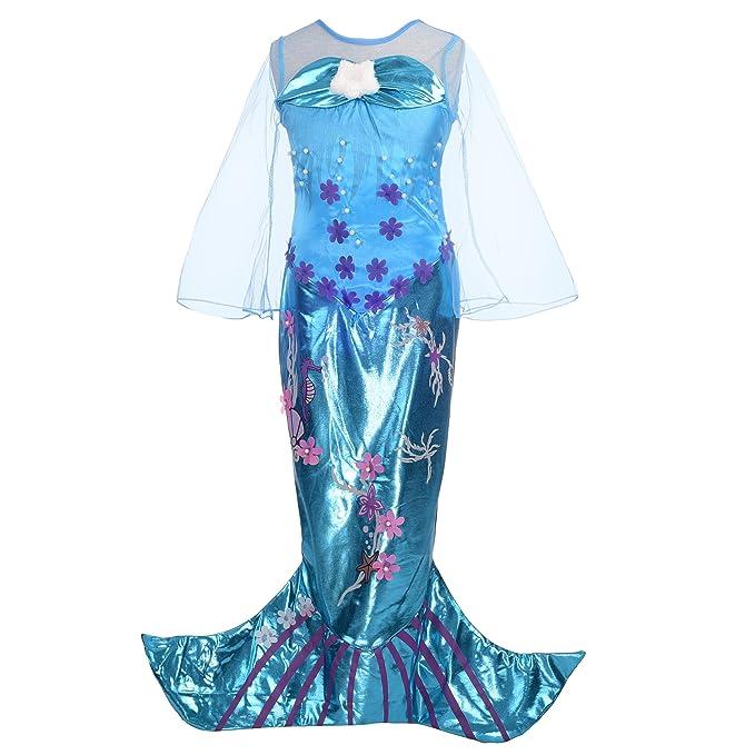 Dressy Daisy Girls Princess Mermaid Costumes Fancy Dress Up Halloween Costume