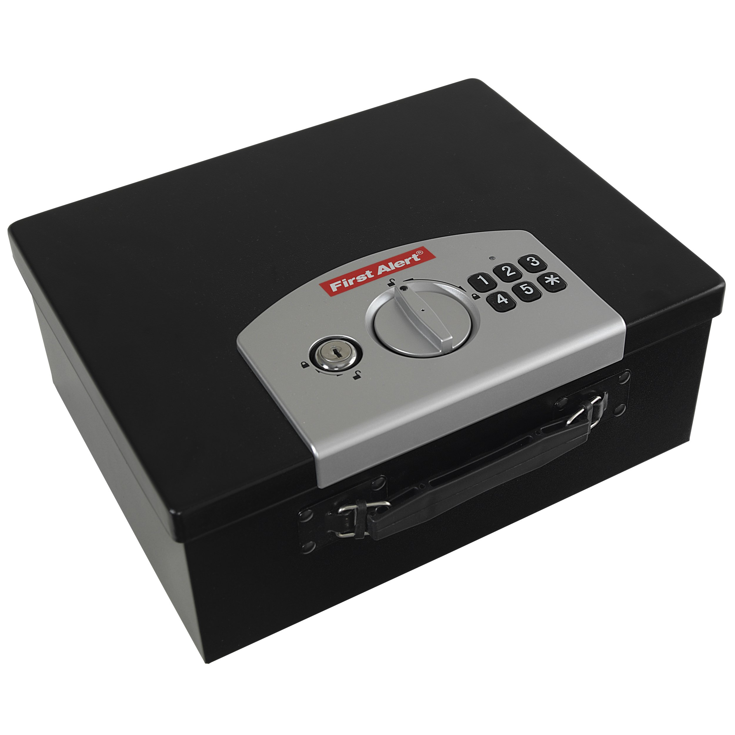 First Alert 3035DF Deluxe Digital Security Box, Black/Silver by First Alert