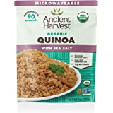 Ancient Harvest Microwaveable Organic Quinoa with Sea Salt (Pack of 12)