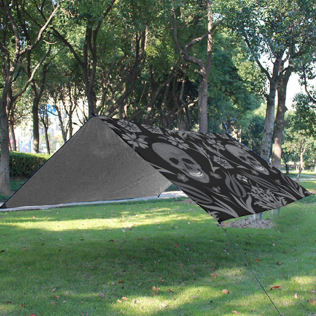 Flowon Couverture de Pique-Nique Pliable en Forme de cr/âne Mexicain la randonn/ée Imperm/éable et Coupe-Vent Id/éale pour Le Camping lherbe
