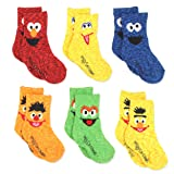Sesame Street Elmo Boy's Girl's Multi Pack Crew