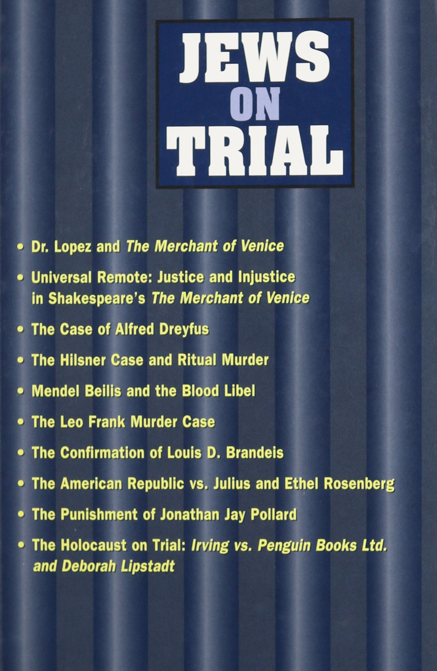Jews On Trial PDF