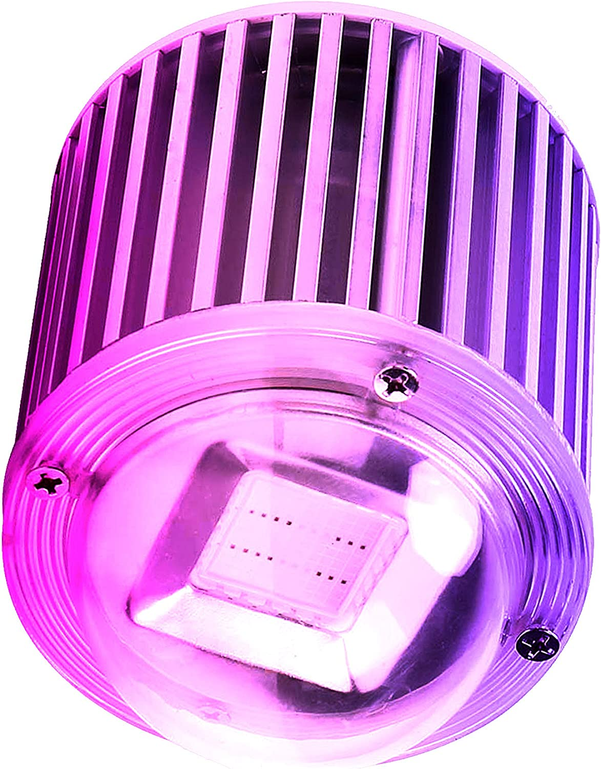 ZOTRON Waterproof Real Grow Light 60W, Newest Technology LED Grow Light Bulbs for Greenhouse, Indoor Plants and Hydroponic Garden, Industrial Grade Growing Lamps