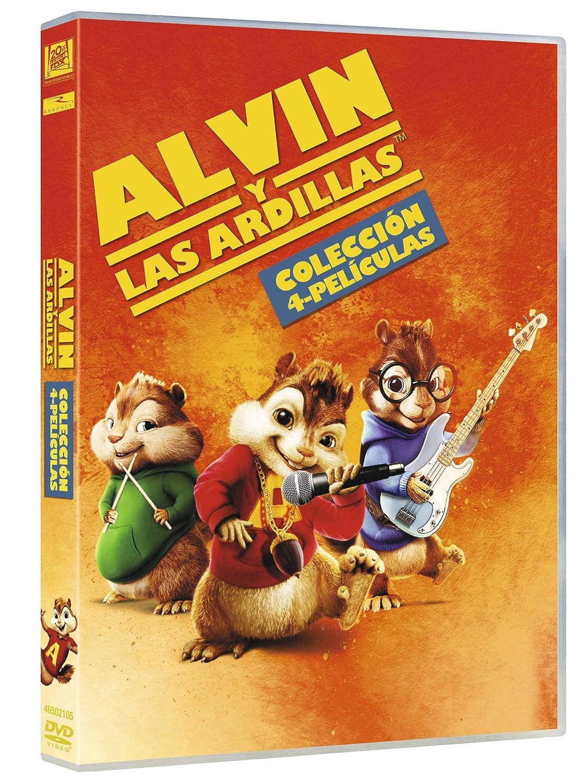 Alvin And The Chipmunks 1 4 Alvin Y Las Ardillas 1 4 Non Usa Format Movies Tv