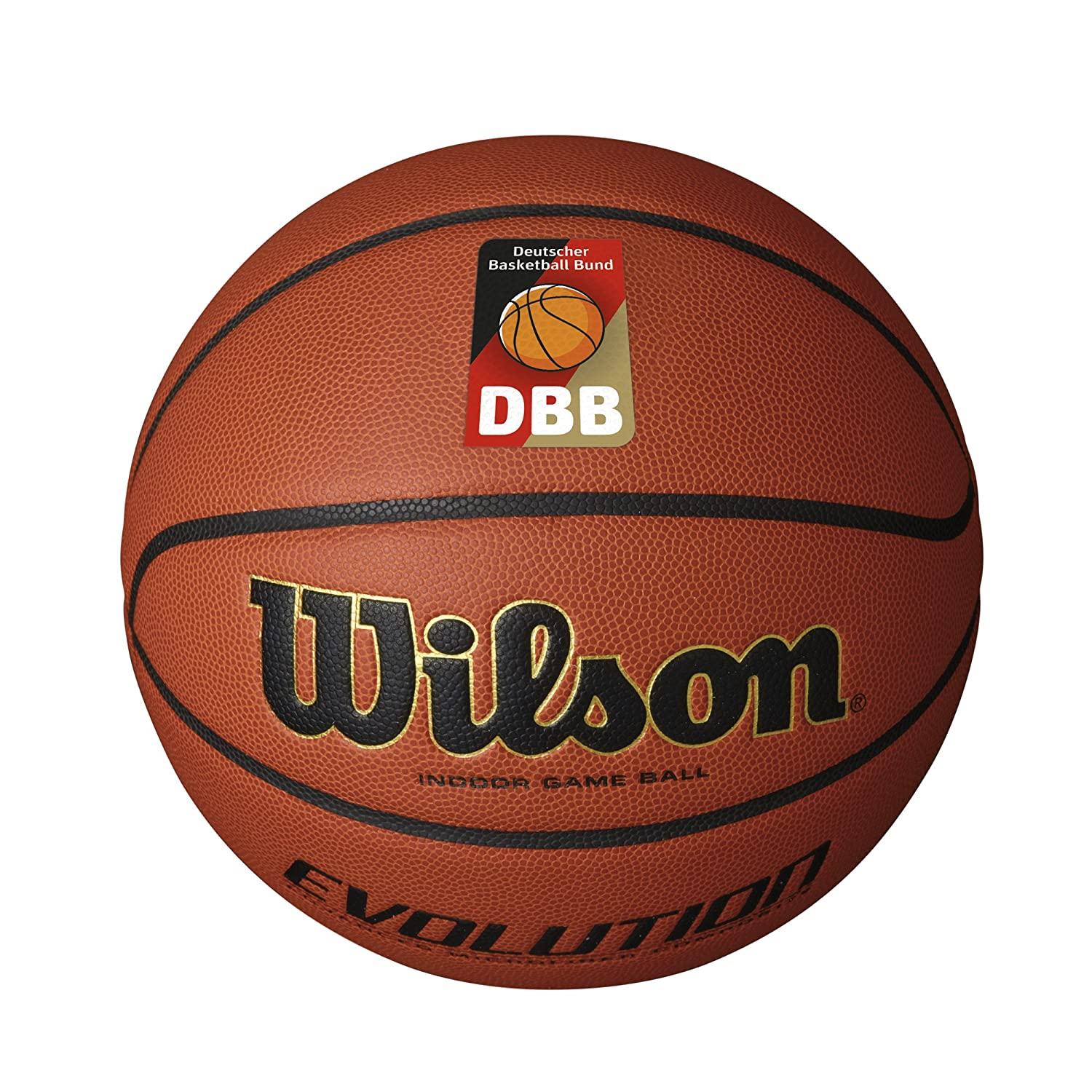 Wilson Evolution Dbb Official Balón para Basketball, Unisex Adulto ...
