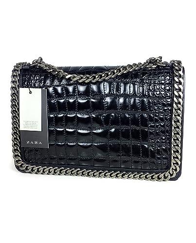ca1497ea75 Zara Women Chain city bag 4067/304: Handbags: Amazon.com