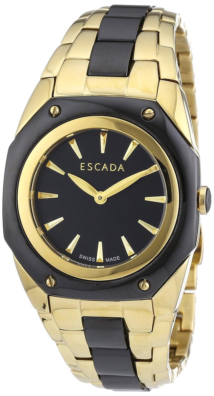 Escada Damen-Armbanduhr NAOMI Analog Quarz verschiedene Materialien E2505042