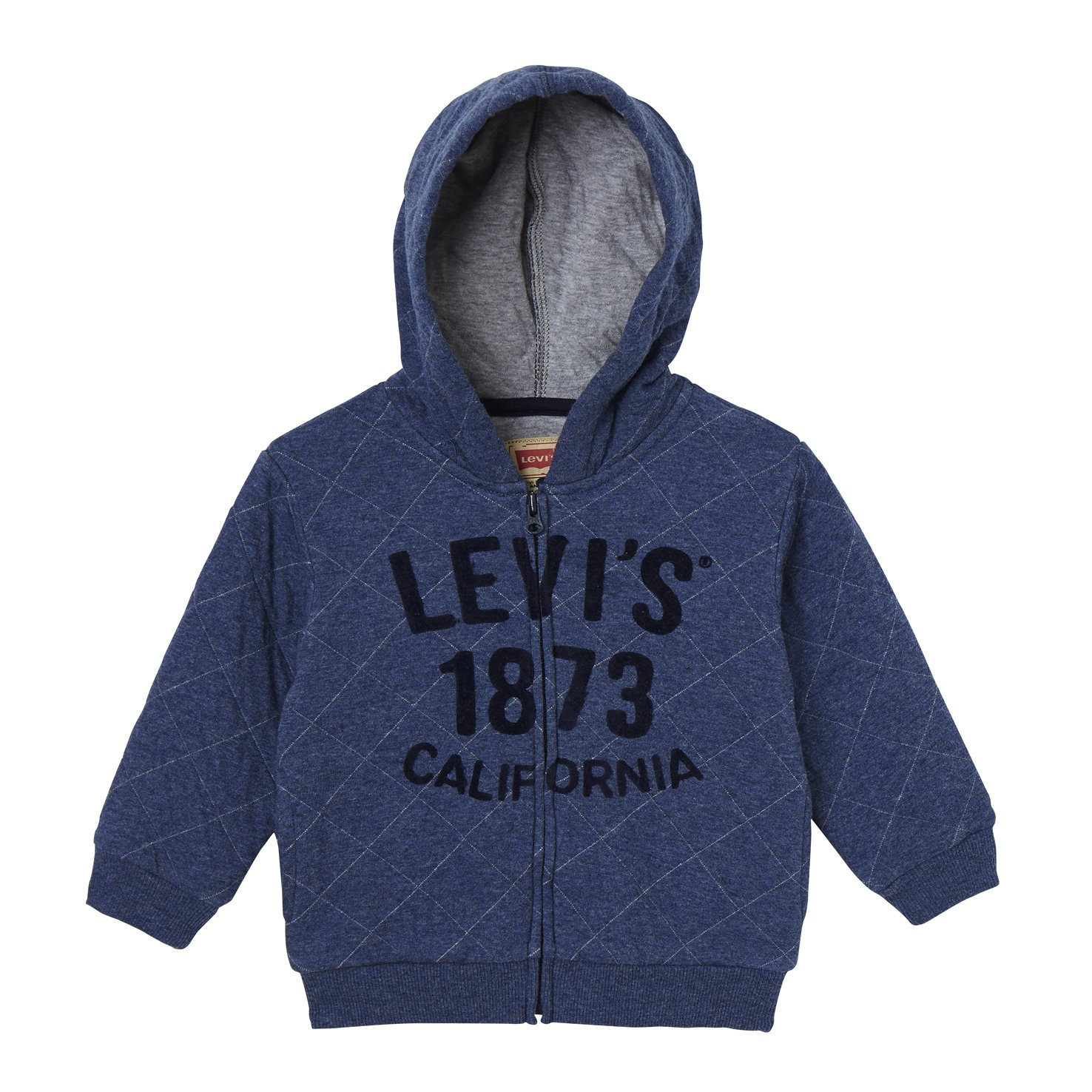 Levi's Kids Zipper Quilt, Felpa Bimbo Levi' s Kids Zipper Quilt NK17044