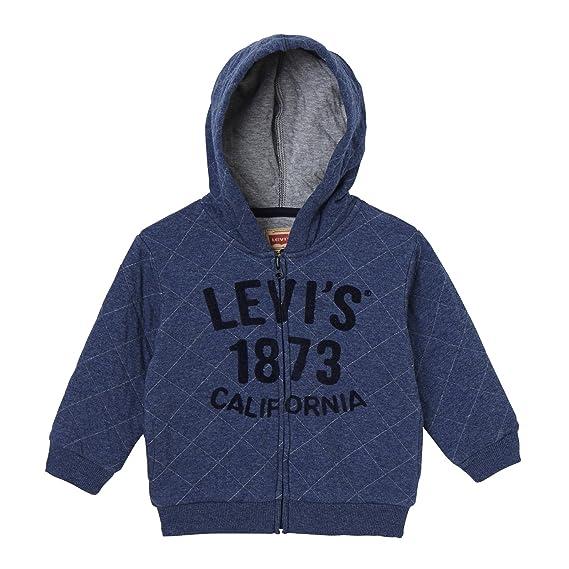 Levi s Kids Zipper Quilt, Sweat à Capuche Bébé garçon  Amazon.fr  Vêtements  et accessoires cb2a41f049d