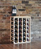 Creekside 24 Bottle Table Wine Rack (Pine) by Creekside - Exclusive 12 inch deep design conceals entire wine bottles. Hand-sanded to perfection!, Pine