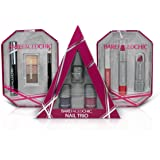 BareFacedChic 9 Piece Triple Trio Gift Set - Eyes, Nails And Lips