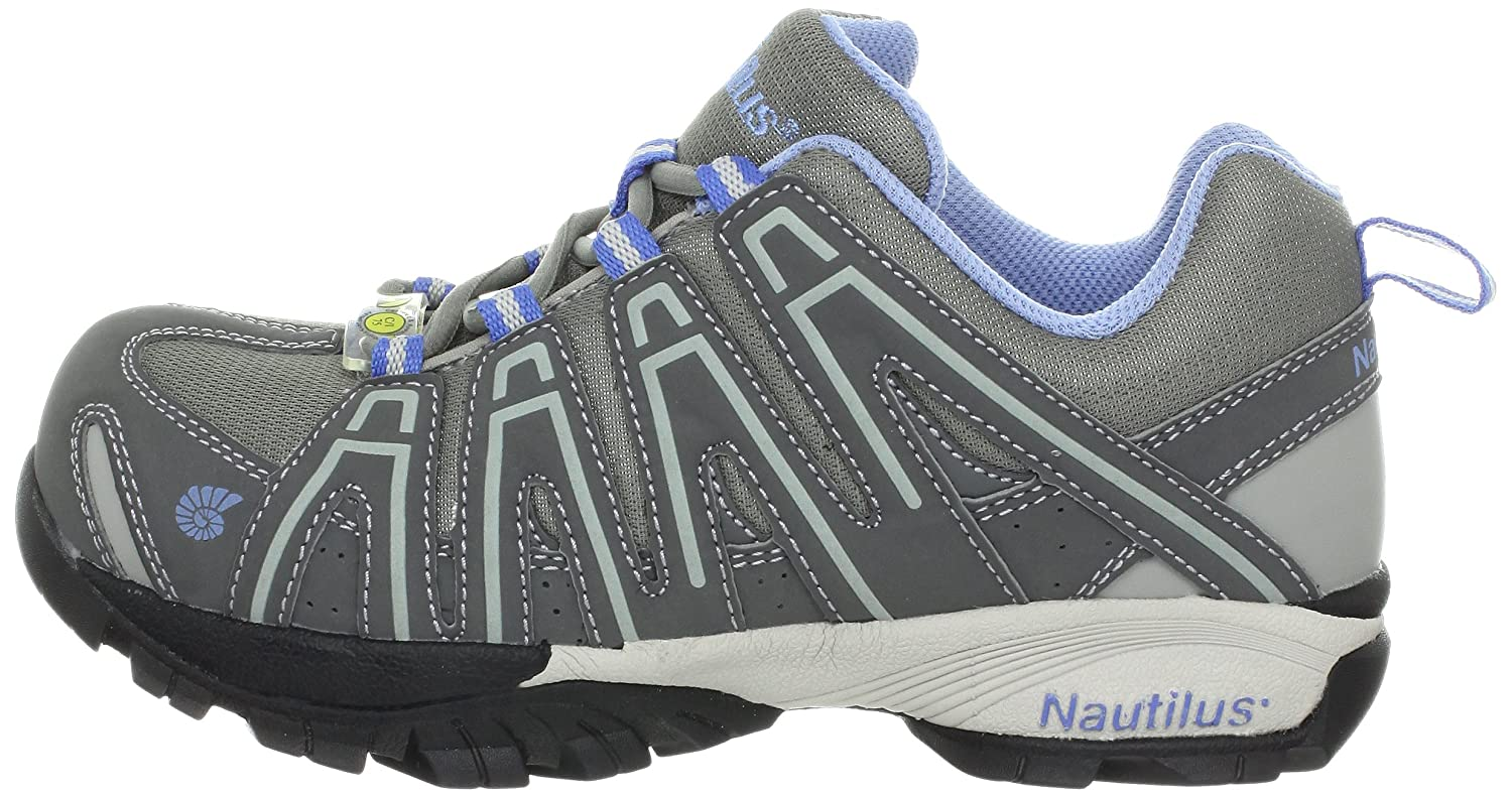Nautilus 1391 Womens ESD Comp Safety Toe No Exposed Metal Athletic Shoe Nautilus Safety Footwear 1391-W
