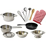 Kangaroo's Deluxe Kitchen Pots N Pan Set, 12 Piece Play Set