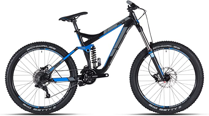 Mondraker - Bicicleta de montaña de doble suspensión (26