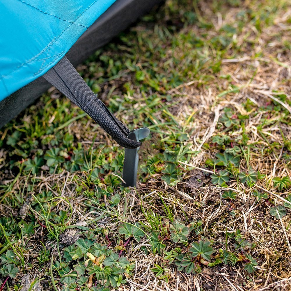 diMio Pack of 20/XL Steel Tent Pegs 23 cm V-Profile