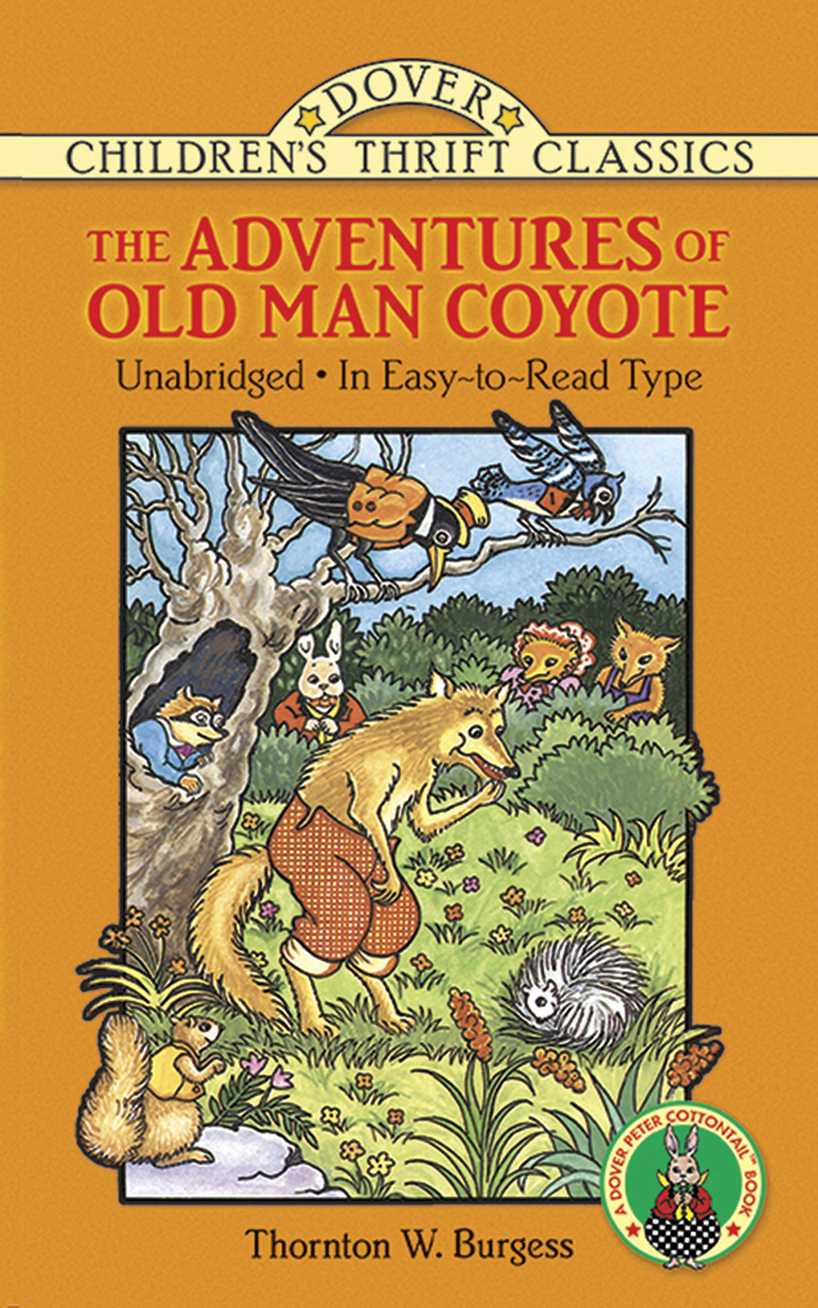 The Adventures of Old Man Coyote (Dover Children's Thrift Classics)