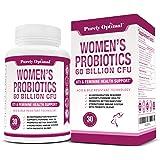 Premium Probiotics for Women - 60 Billion CFU, Dr. Formulated Prebiotics and Probiotics for Women, D-Mannose, ProCran…