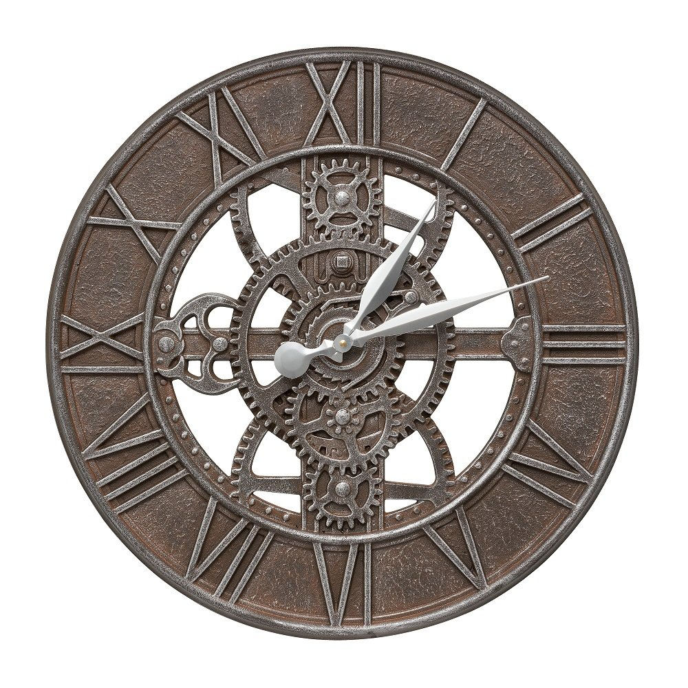 Whitehall Products Gear 21-in. Indoor/Outdoor Wall Clock by Whitehall
