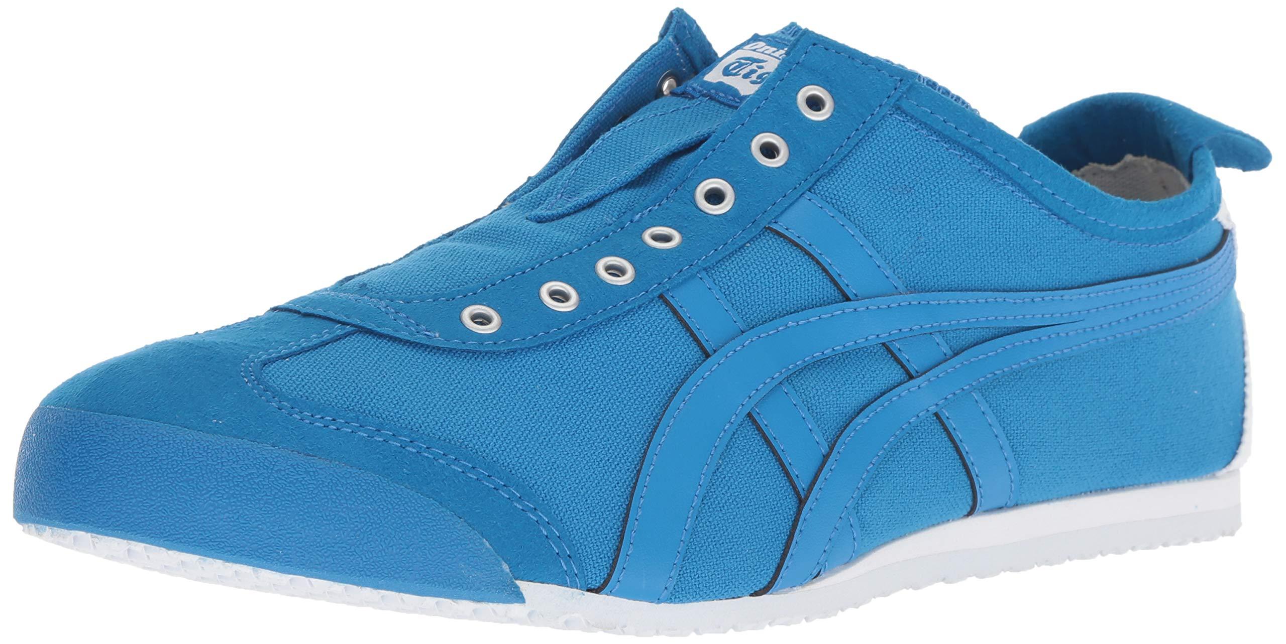 size 40 2b9be 8d80d Onitsuka Tiger Unisex Mexico 66 Slip-on Shoes D3K0N, Directoire  Blue/Directoire Blue, 4 M US