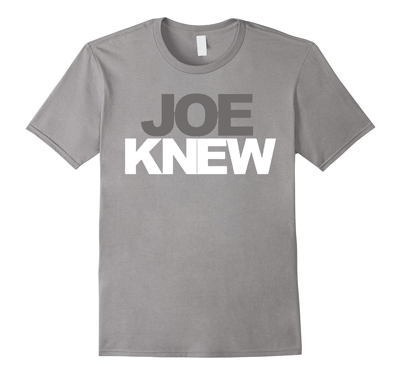 Joe Knew T-Shirt-CD