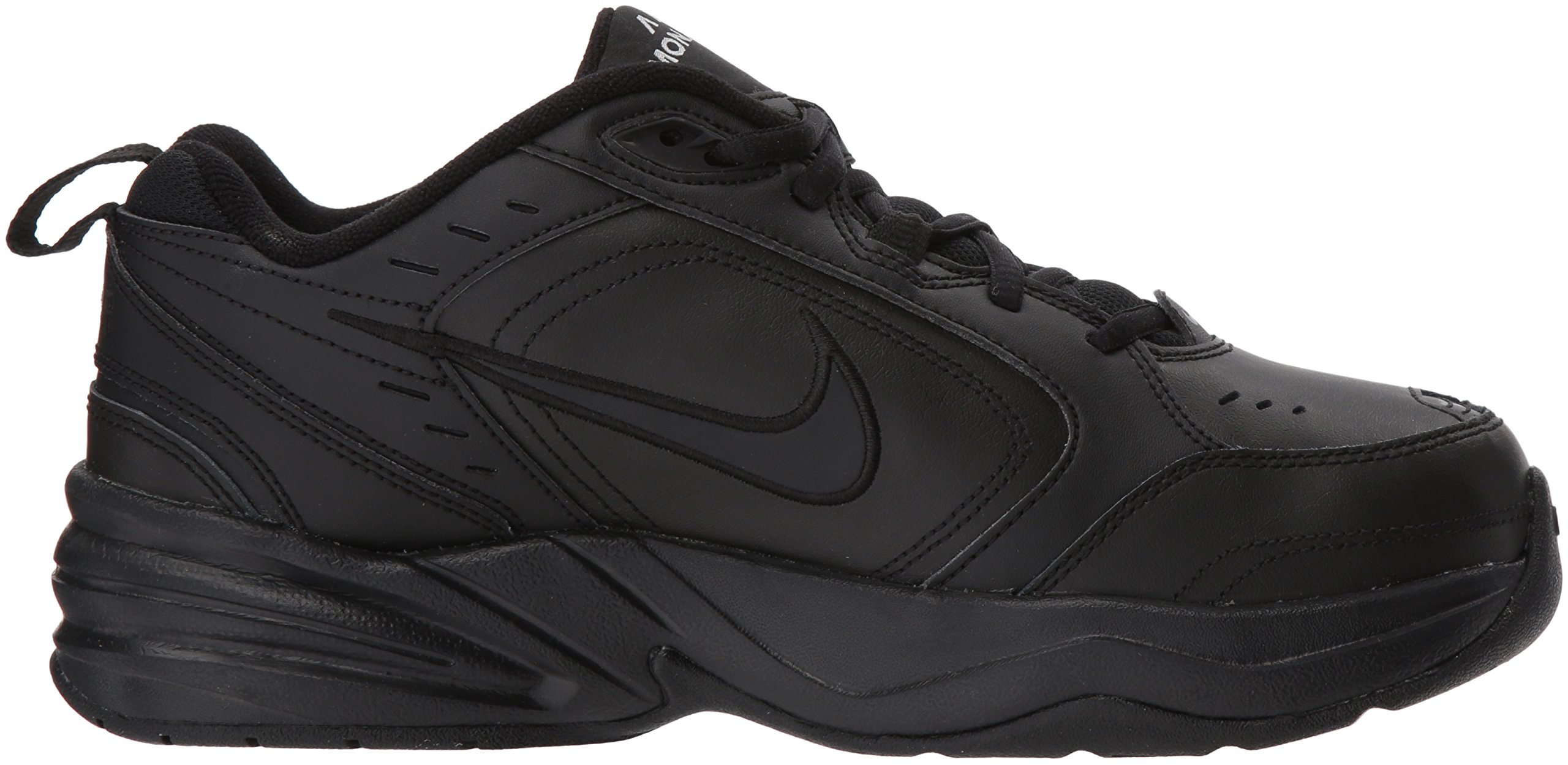 NIKE AIR MONARCH IV (MENS) - 6 Black/Black by Nike (Image #13)