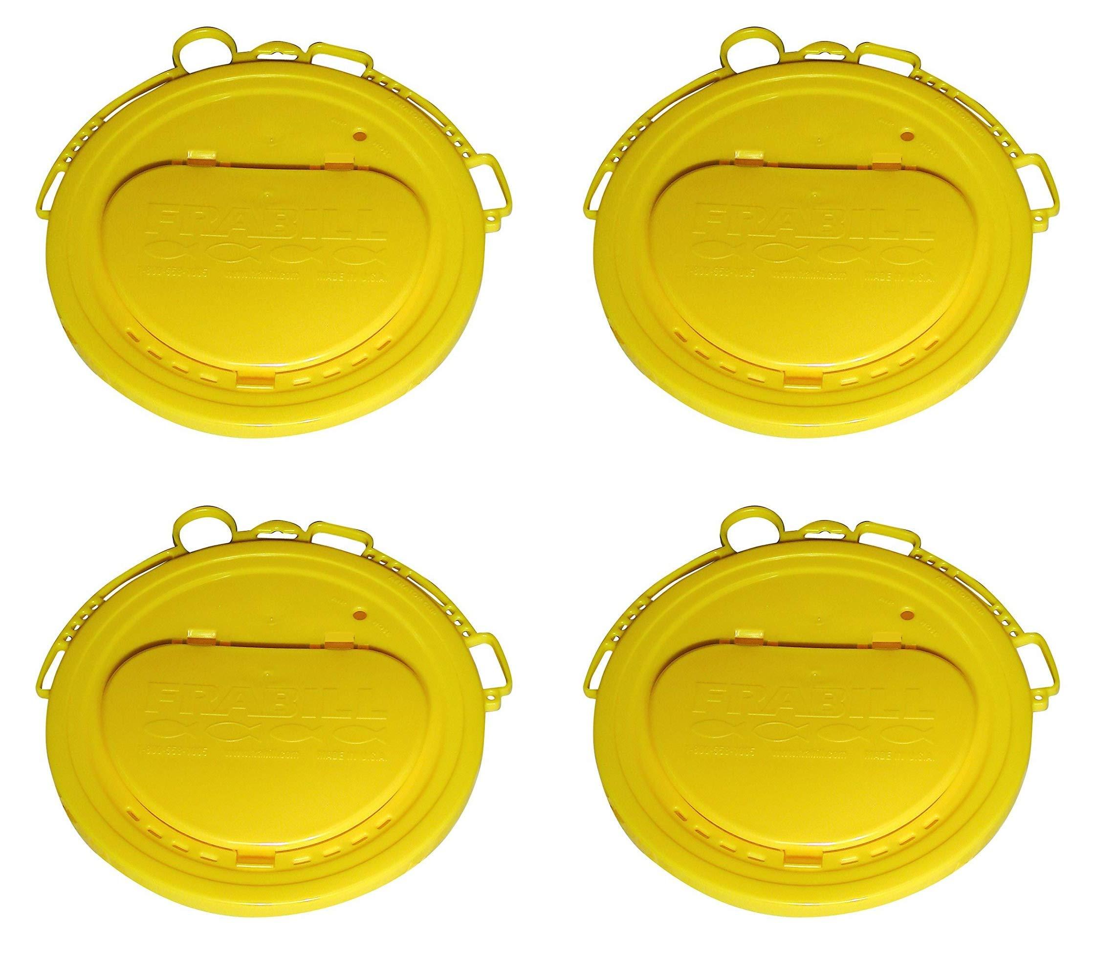 Frabill Deluxe Bait Bucket Lid (Fоur Расk)