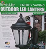 Envirolite Outdoor Led Lantern Light Fixture With Optional